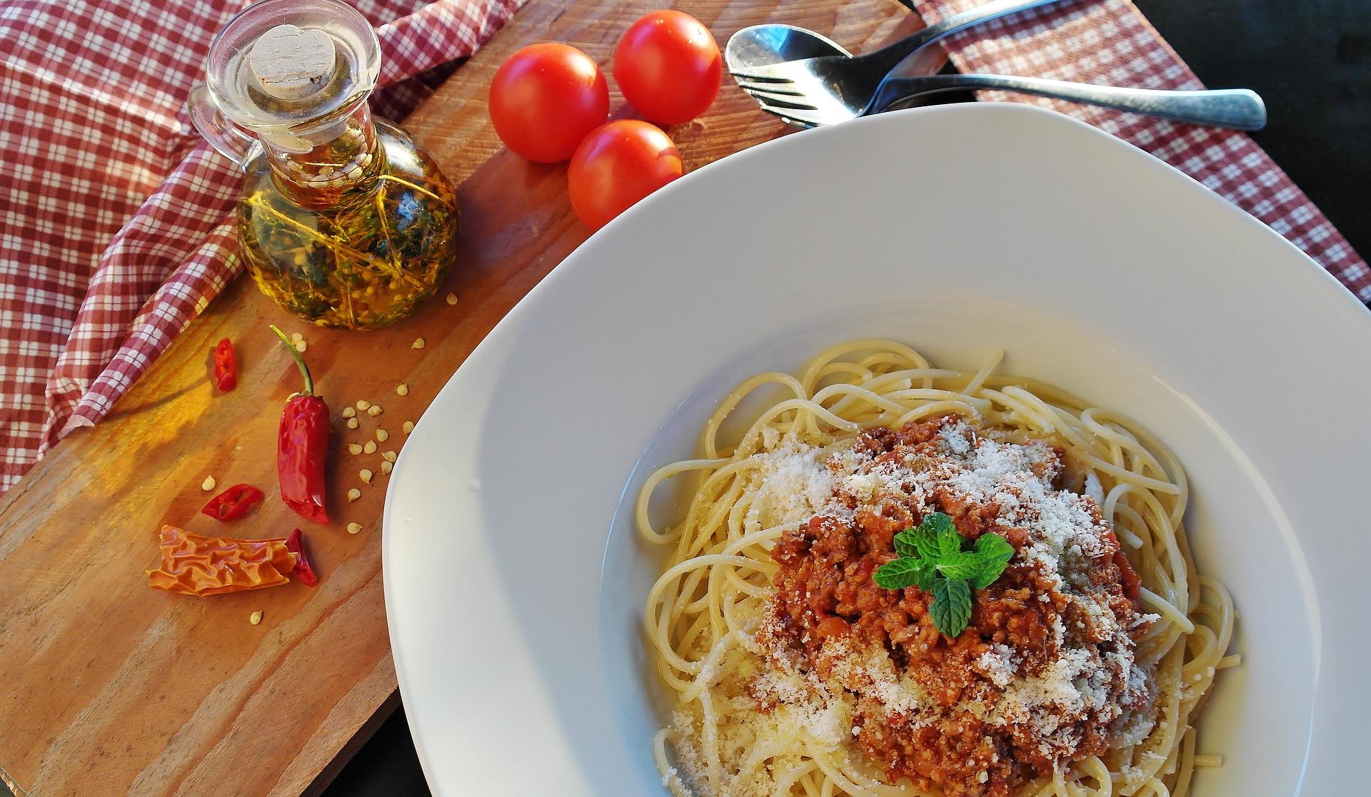 Lecker Spaghetti